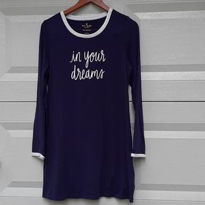 Kate Spade in your dreams pajama dress size M